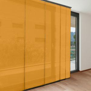 Panel japonés aire mostaza