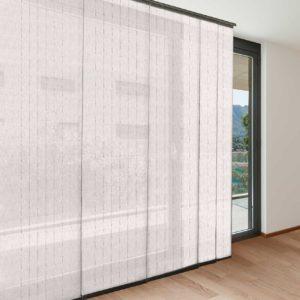 Panel japonés mongomeri blanco