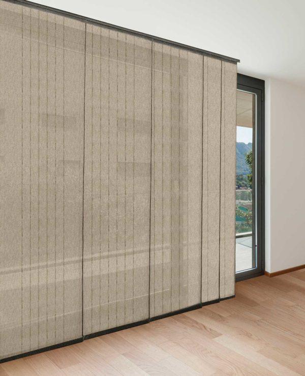 Panel japonés mongomeri lino